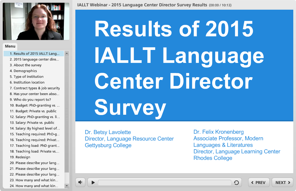 IALLT Survey